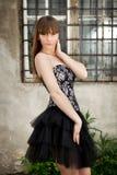 Foto di stile di Vogue di giovane bellezza Immagini Stock Libere da Diritti