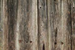 Foto di struttura del legno stagionato rustico del granaio Fotografia Stock