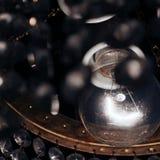 Foto di stupore della lampadina Foto nello stile di reto fotografie stock