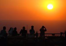 Foto di tramonto fotografia stock libera da diritti