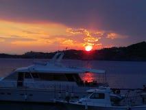 Foto di tramonto da Anastasia immagine stock libera da diritti