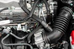 Foto di un blocchetto pulito del motore Fotografia Stock