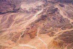 Foto di un deserto Fotografie Stock