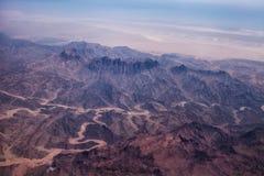 Foto di un deserto Fotografia Stock