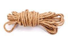 Foto di una bobina della corda Fotografia Stock Libera da Diritti