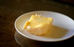 Foto di una macro di un'omelette deliziosa Immagini Stock Libere da Diritti