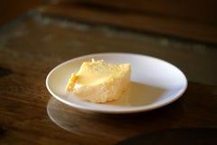 Foto di una macro di un'omelette deliziosa Fotografia Stock Libera da Diritti