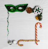 Foto do alimento da composição do Natal Foto de Stock Royalty Free