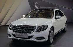 Foto do carro de Mercedes-Benz Maybach Fotografia de Stock