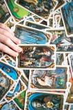 Foto do cartão de tarô Foto de Stock Royalty Free