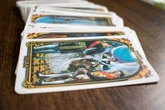 Foto do cartão de tarô Fotos de Stock Royalty Free