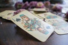 Foto do cartão de tarô Imagem de Stock Royalty Free