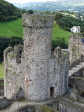 Castelo de Conwy, Wales norte, Reino Unido Imagem de Stock Royalty Free