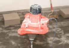Foto do close up da máquina usada do agitador Fotos de Stock Royalty Free