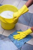Foto do conceito da limpeza Fotografia de Stock Royalty Free