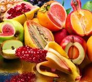 Foto do conceito das frutas modificadas imagens de stock
