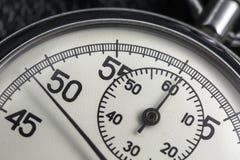 Foto do cronômetro análogo velho Imagens de Stock