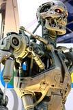 Foto do esqueleto da extremidade T-800 imagens de stock royalty free