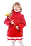 Foto do estúdio das crianças center Fotos de Stock Royalty Free