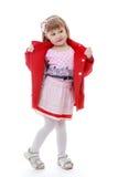 Foto do estúdio das crianças center Imagem de Stock Royalty Free