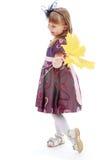 Foto do estúdio das crianças center Imagem de Stock