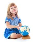 Foto do estúdio das crianças center Fotos de Stock