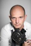 Foto do estúdio de um homem novo considerável adulto Fotos de Stock