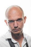 Foto do estúdio de um homem novo considerável adulto Foto de Stock