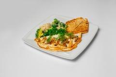 Foto do estúdio do café da manhã do vegetariano Fotos de Stock Royalty Free