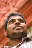 Foto do homem de negócio indiano confiável com visão foto de stock royalty free