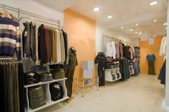 Foto do interior da loja imagens de stock