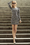 Foto do louro novo elegante Imagem de Stock Royalty Free