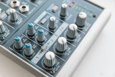 Foto do misturador audio análogo fotos de stock royalty free