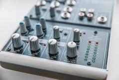 Foto do misturador audio análogo fotos de stock