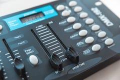 Foto do misturador audio análogo imagens de stock