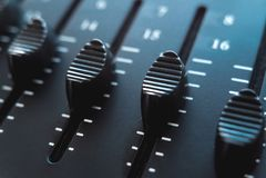 Foto do misturador audio análogo imagens de stock royalty free