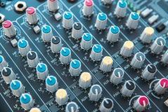 Foto do misturador audio análogo imagem de stock royalty free