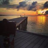 Foto do nascer do sol fotos de stock