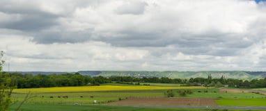 Foto do panorama do prado Fotografia de Stock