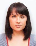 Foto do passaporte imagens de stock royalty free