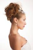 Foto do perfil das noivas Foto de Stock Royalty Free