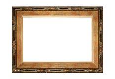 Foto do quadro de madeira no estilo asiático Fotos de Stock Royalty Free