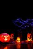 Foto do tema de Halloween - retrato Imagem de Stock Royalty Free