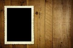 Foto do vintage na madeira velha Fotos de Stock
