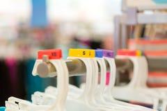 Foto dos ganchos com tamanhos diferentes Imagem de Stock Royalty Free
