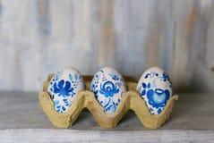 Foto dos ovos da páscoa fotos de stock