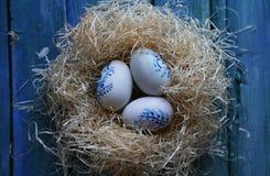 Foto dos ovos da páscoa imagens de stock