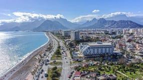 Foto earial de Antalya Imagem de Stock