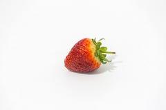 Foto einer Erdbeere Stockfotos