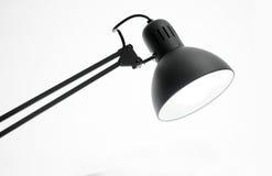 Foto einer Schreibtischlampe getrennt Stockbilder